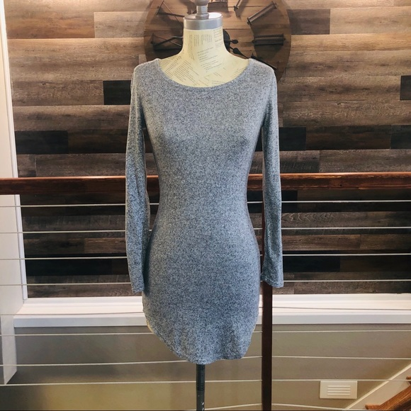 No Boundaries Dresses & Skirts - Simple Gray Sweater Dress